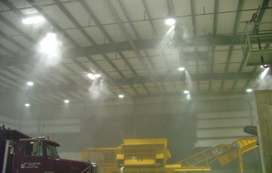 High Pressure Fog Systems to Improve Efficiency