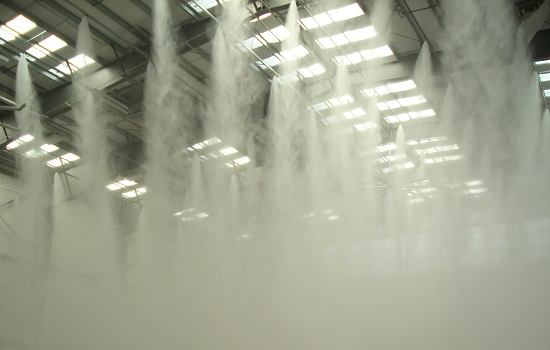 What are the installation stages of high-pressure fog systems