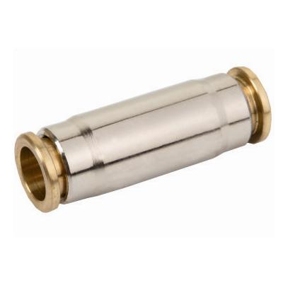 Tube coupling nickel plated